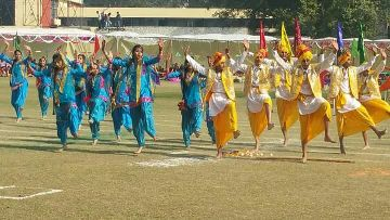 Cultural Activities in S. D. Model Sr. Sec. School