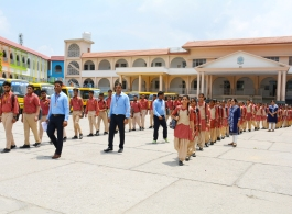 Discipline in S. D. Sr. Sec. School Karnal